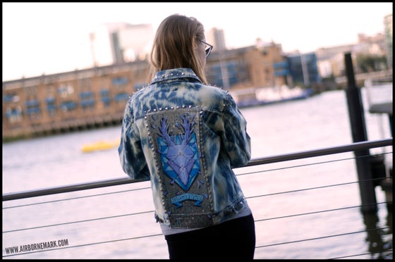 "Image of ""Origami Deer Trophy"" Custom Jacket"