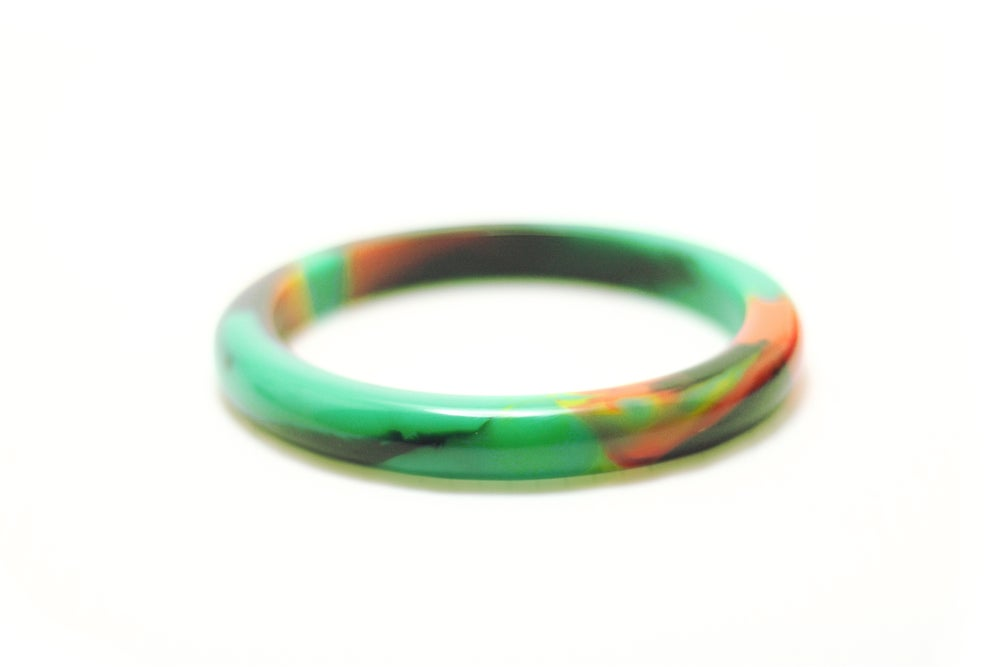 Image of Malachite Slender Bangle