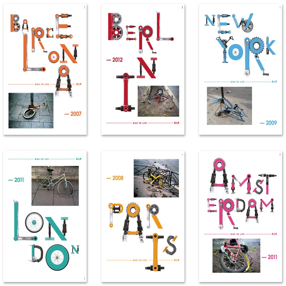 Image of Bike to Life posters