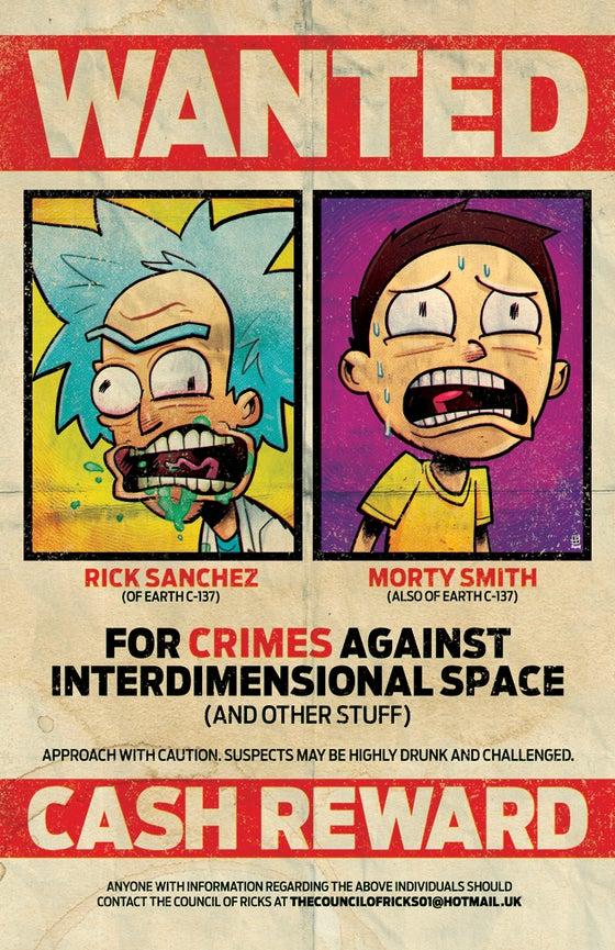 Image of Crimes Against Interdimensional Space