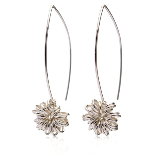 Image of Allium modern drop earrings
