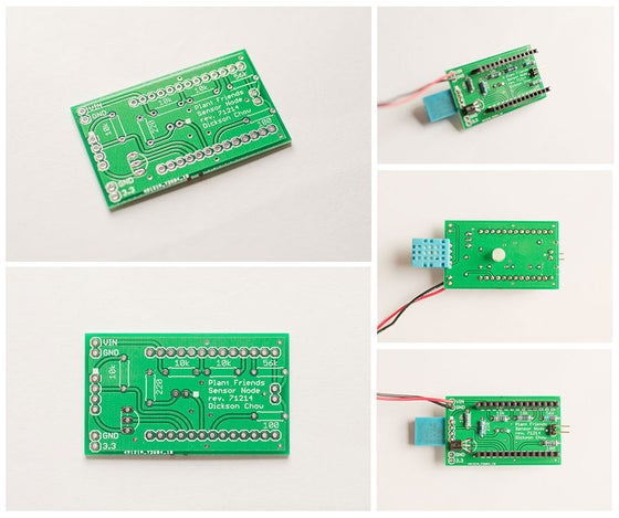 Image of Sensor Node PCB for Plant Friends