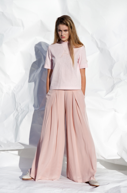 Image of Silk culotte pants- ON SALE