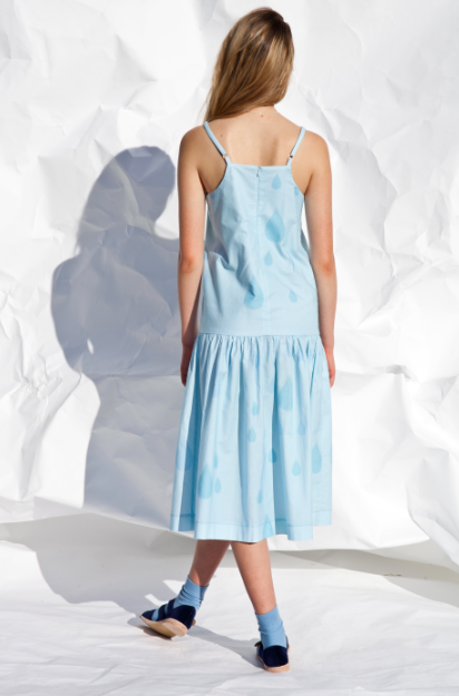Image of Droplet dropwaist dress- ON SALE