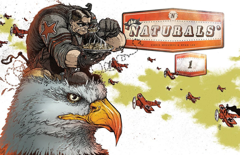 Image of The Naturals #1 2nd Print