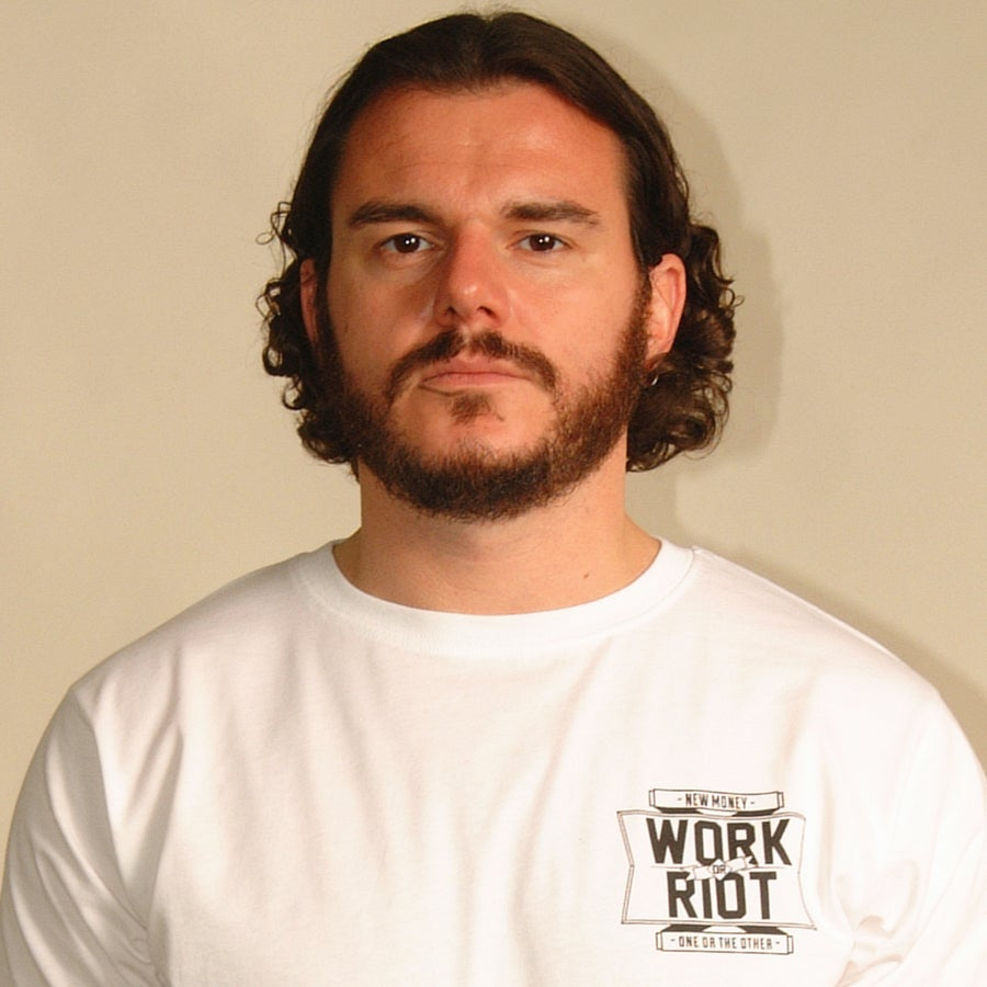 Image of New Money - Work or Riot (White)