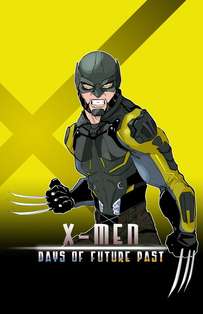 "Image of <font size=""3"">WOLVERINE </font><br> X-MEN 