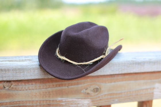 Image of Chocolate Cowboy Hat