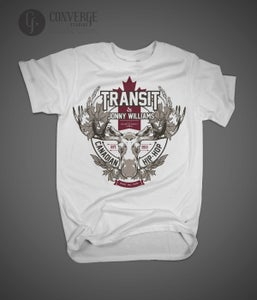 Image of Transit & Jonny Williams Limited Edition CDN Tee (Pre-Order)
