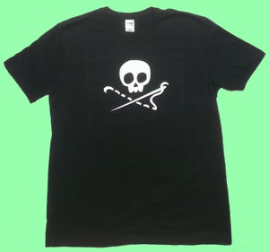 Image of Sewing Skull T-Shirt
