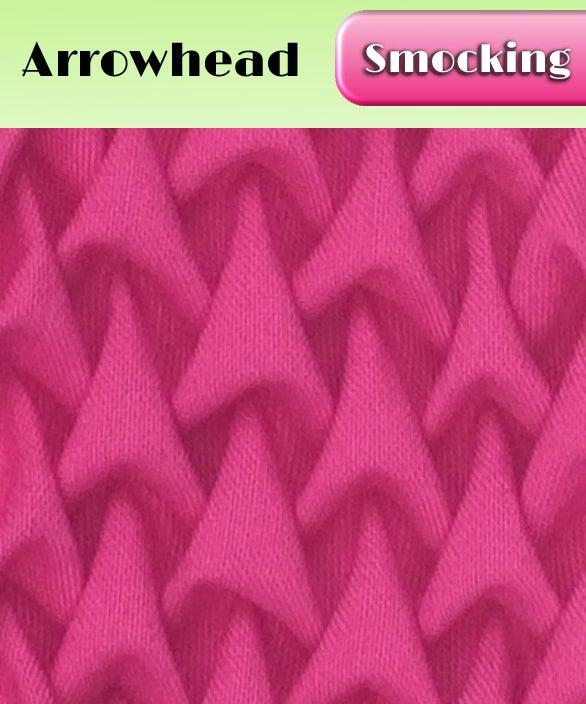 Image of PDF - Heirloom Smocking Pattern - 03 - Arrowhead