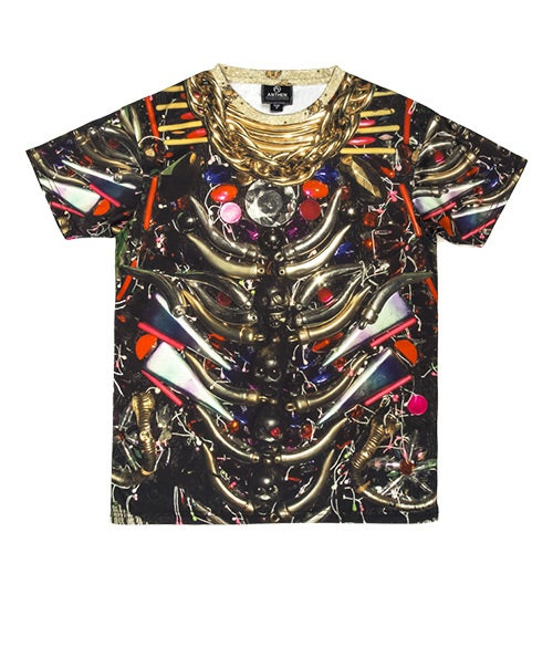 Image of Anthen x Dog Harajuku <br/>Gold Chain Men's T-shirt