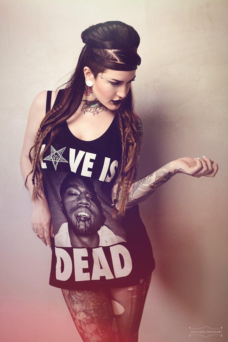 Image of LOVE IS DEAD - TANK  ♀ ♂