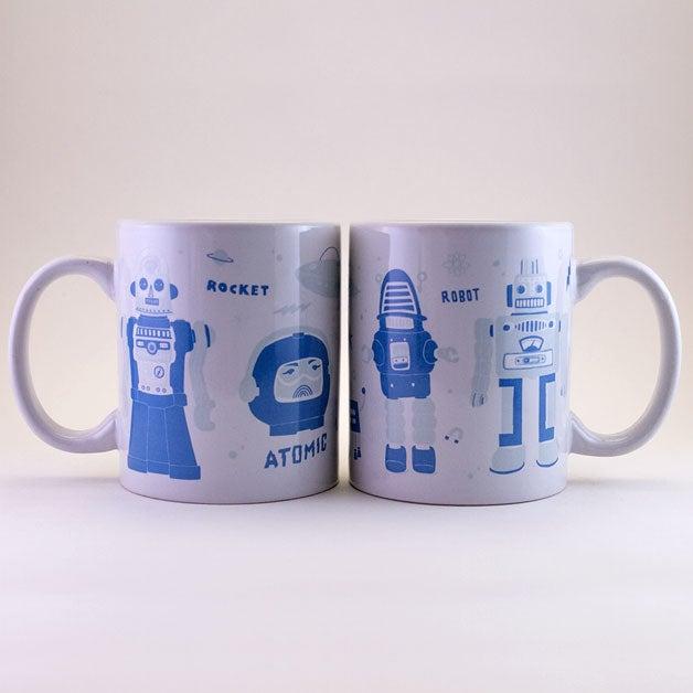 """Image of Taza """"Robot""""  /  """"Robot"""" Mug"""