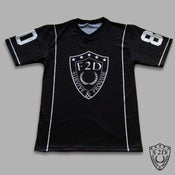 Image of MORALS OVER MONEY FOOTBALL JERSEY