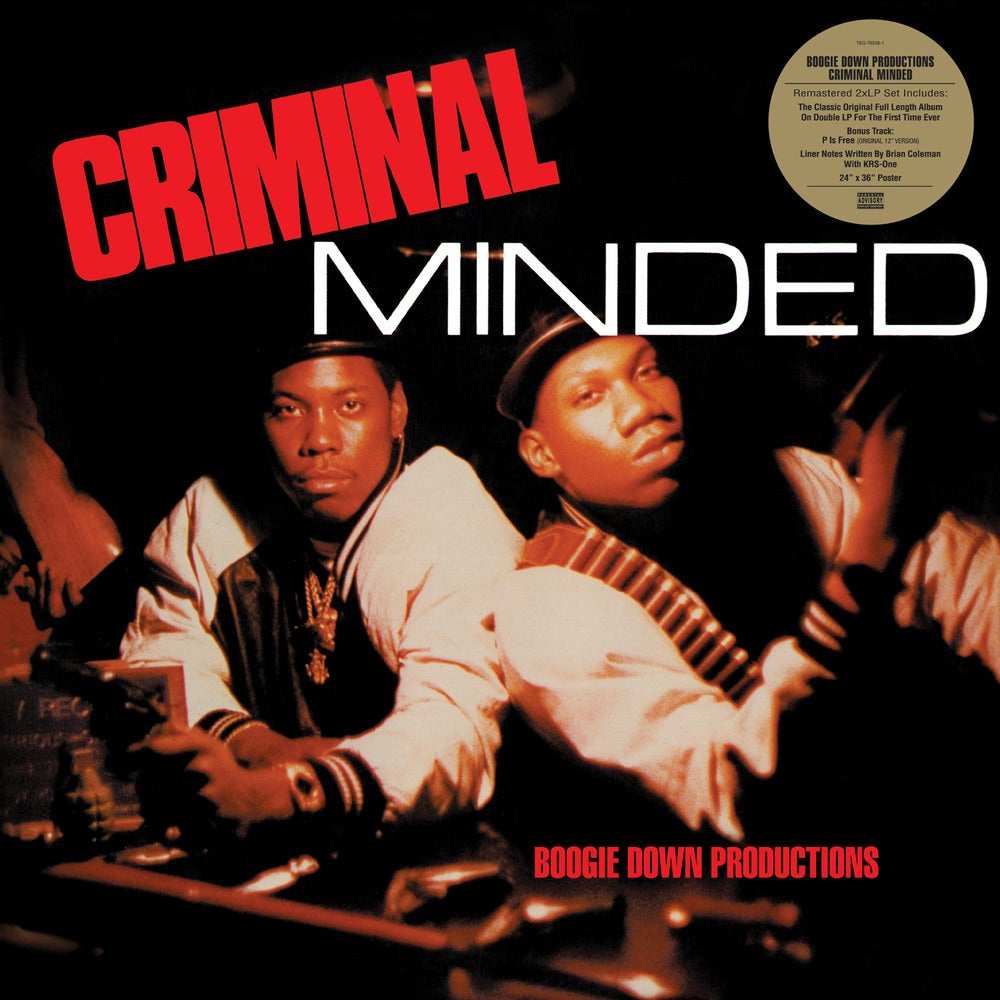 Image of TEG76538-LP BOOGIE DOWN PRODUCTIONS