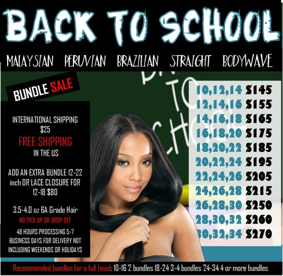 Image of BACK TO SCHOOL SALE