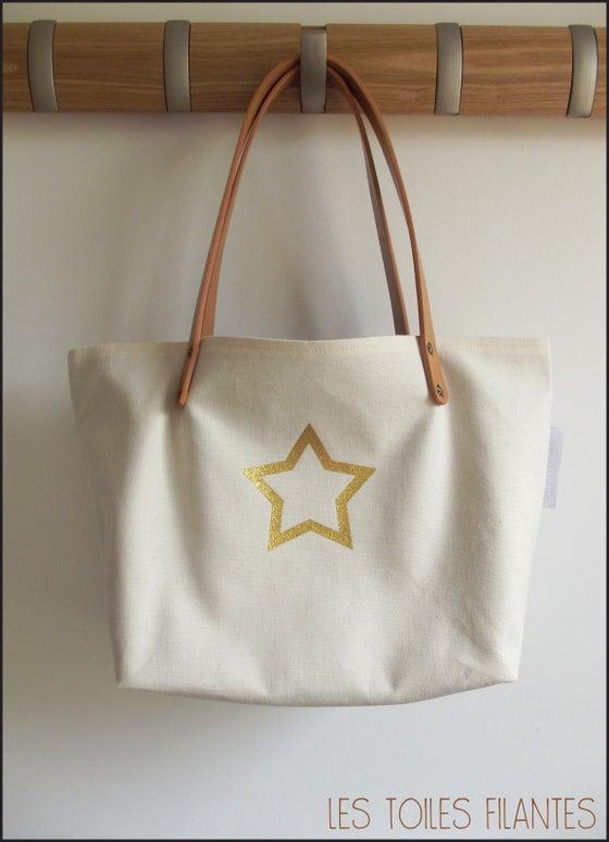 Image of Sur commande: sac toile de coton naturel