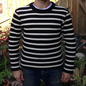 """Image of Motorcycle Sweater 1"""" Stripe- MORE COLORS"""