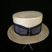 Image of Stetson Select Straw Boater Hat
