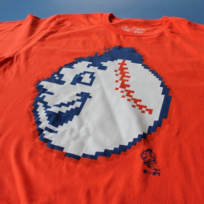 Image of Emoji Mr. Met (ORANGE)