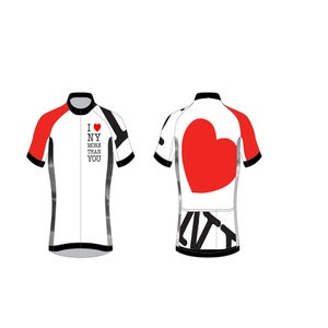 Image of I love NY more than YOU short sleeve jersey