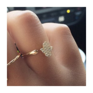 Image of Hamsa wrap around ring