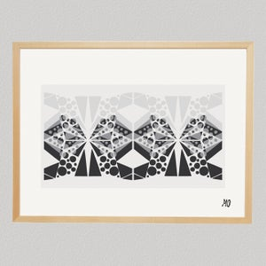 Image of Monochrome pattern