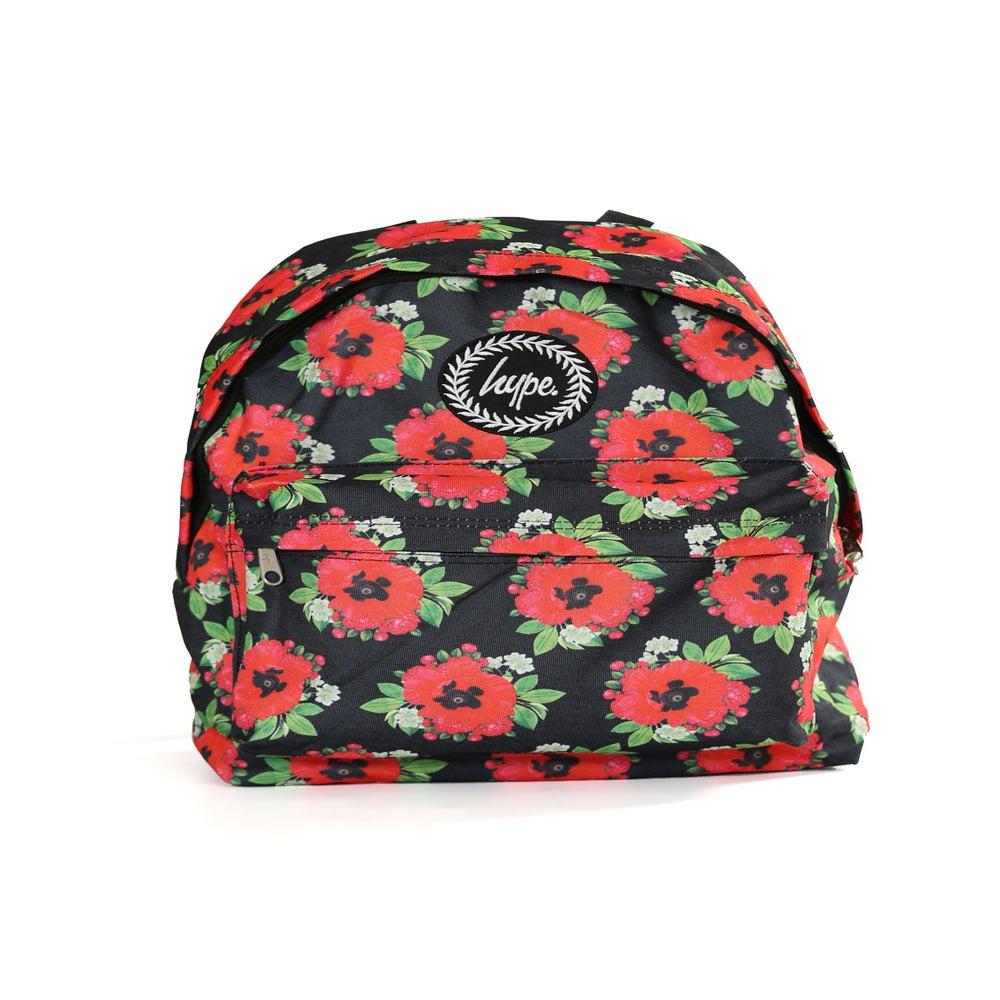 Image of HYPE. BLACK POPPY BACKPACK