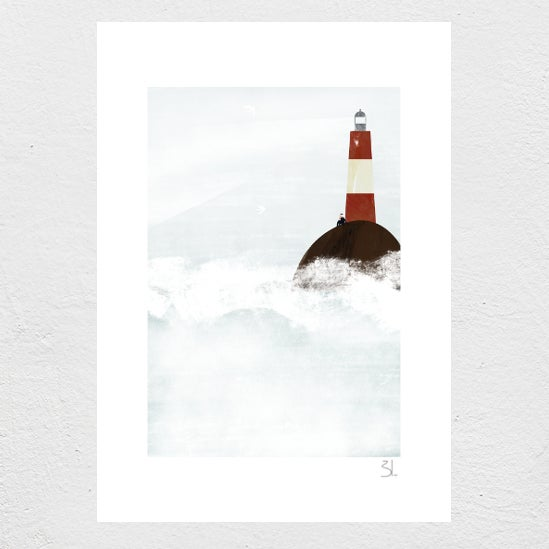 Image of The Lighthouse Keeper Print