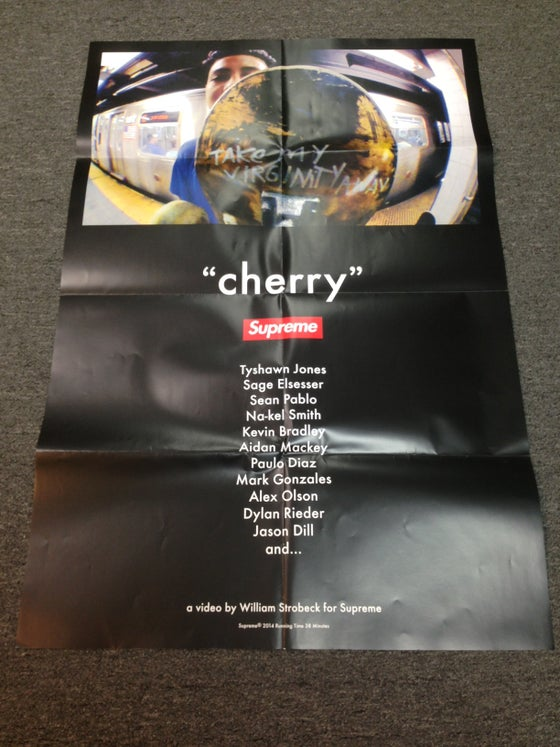 "Image of Supreme ""Cherry"" Poster"