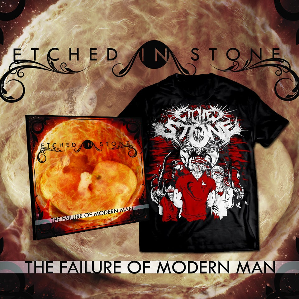 Image of The Failure of Modern Man Shirt-CD bundle
