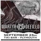 Image of MARTYR DEFILED + SUPPORT @ Tiki Bar, Plymouth | 23/09/14