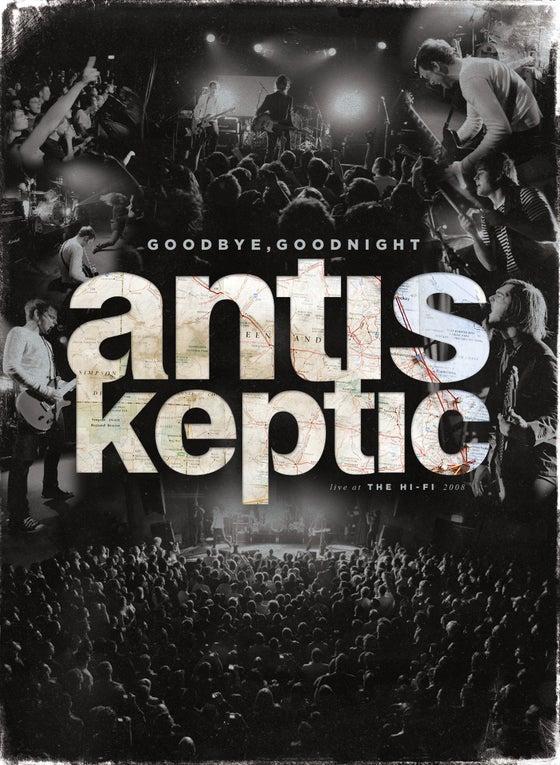 Image of Goodbye Goodnight Live At The Hi-Fi CD & DVD. (inc AUS postage)