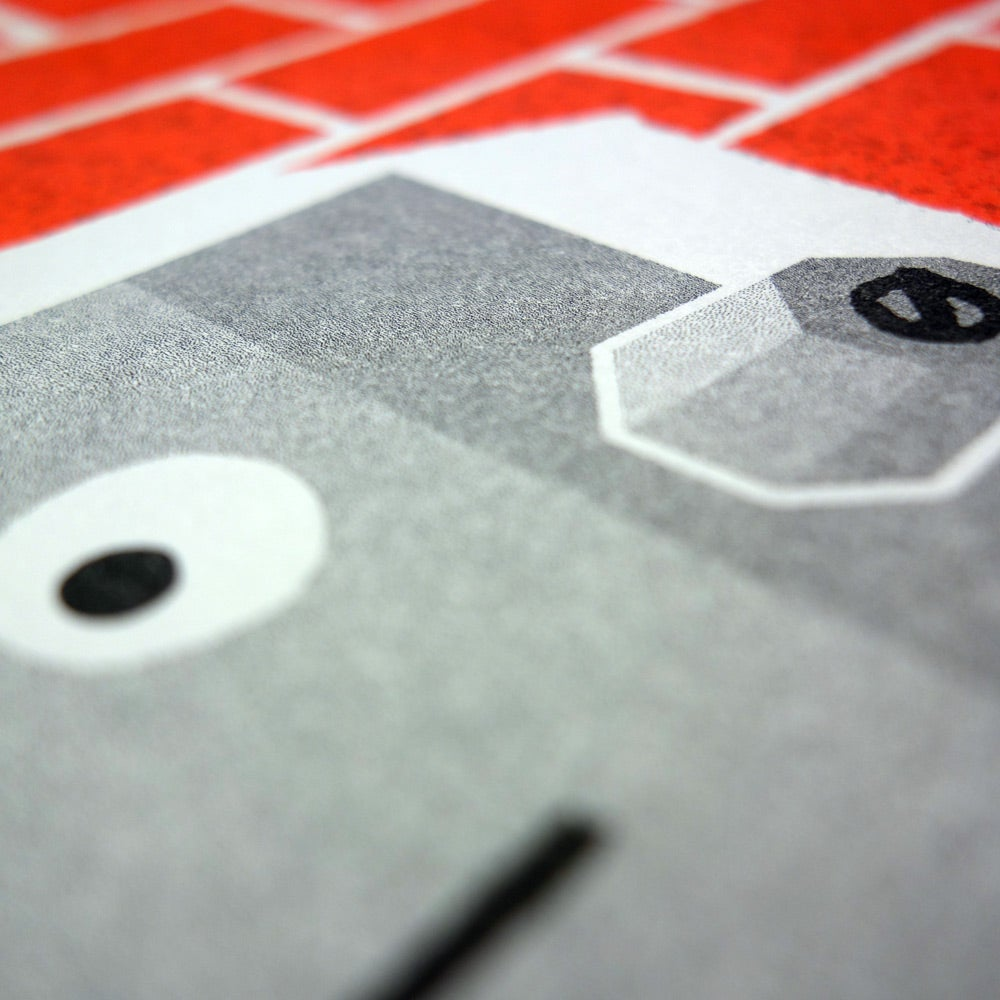 Image of Risograph | Robot