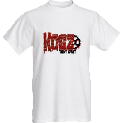 Image of 'Kogz That Cunt' T-Shirt White