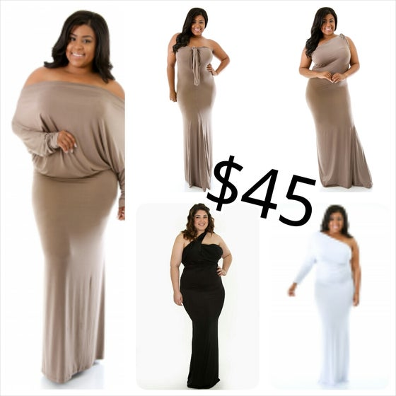 Image of Convertible Maxi Dress