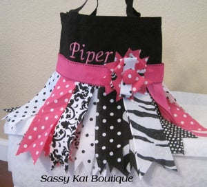 Image of Rag Skirt Tote Bag