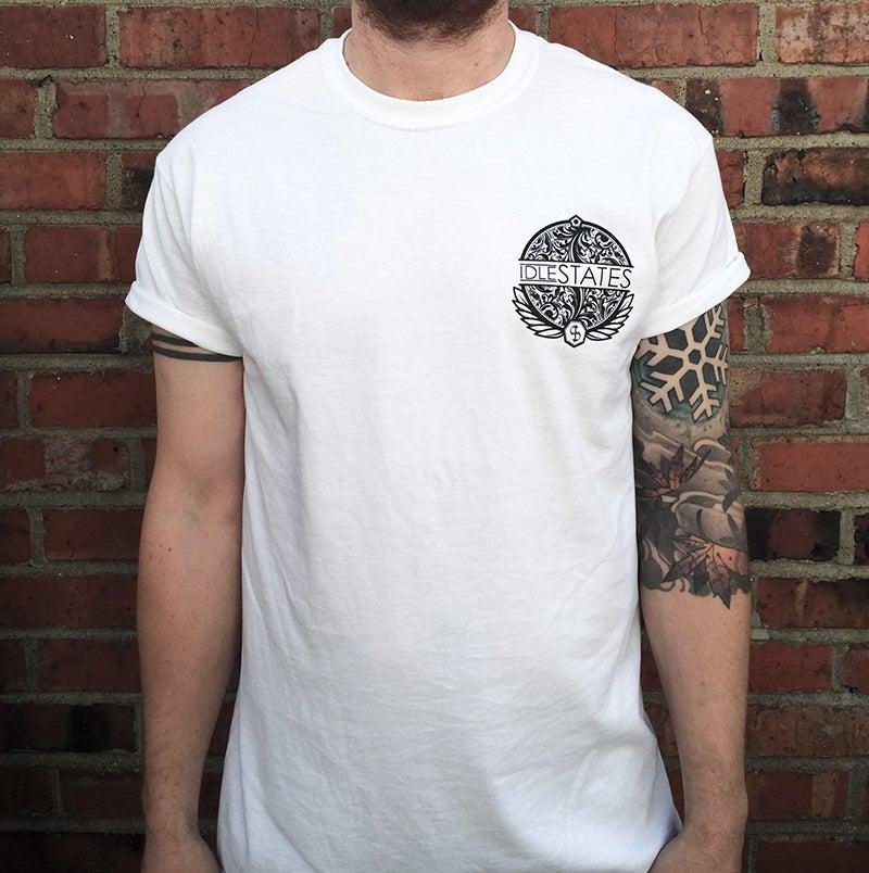 Image of Pocket Logo T-Shirt (White)