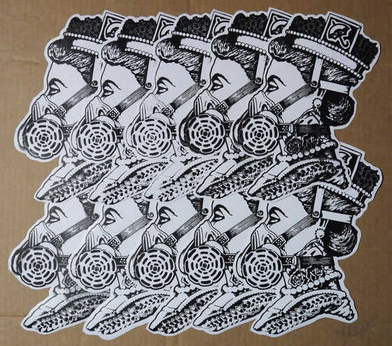Image of Queen Eli Sticker Pack 3''X4''
