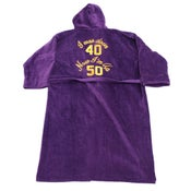 Image of Violette Haze - Down 40 Terry Cloth Robe