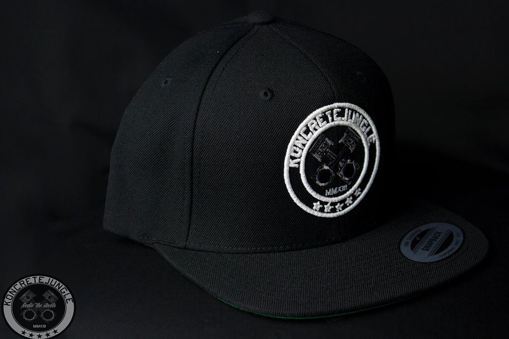 """Image of """"OH GEE"""" LOGO BLK/BLK"""