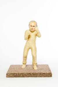 Image of Putin Cat Scratching Post