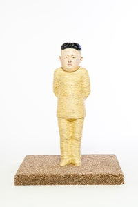 Image of Kim Jong-un Cat Scratching Post