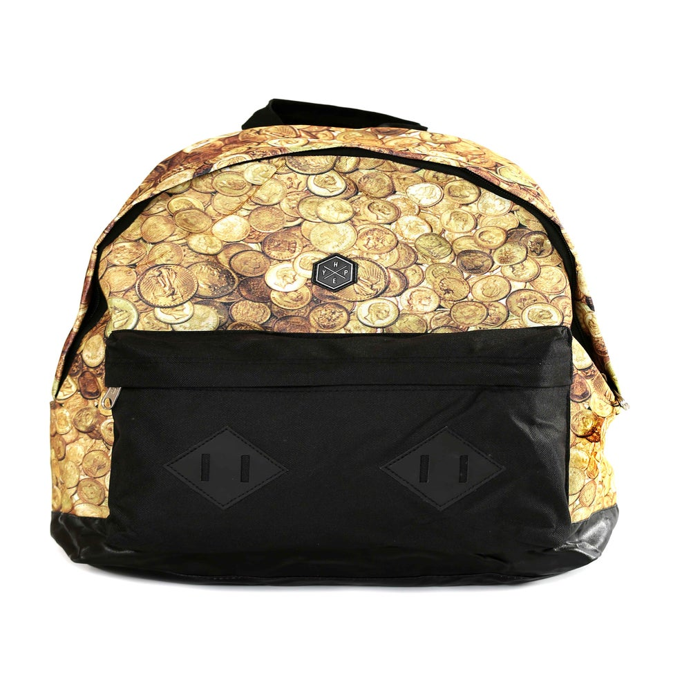 Image of HYPE. COINS BACKPACK