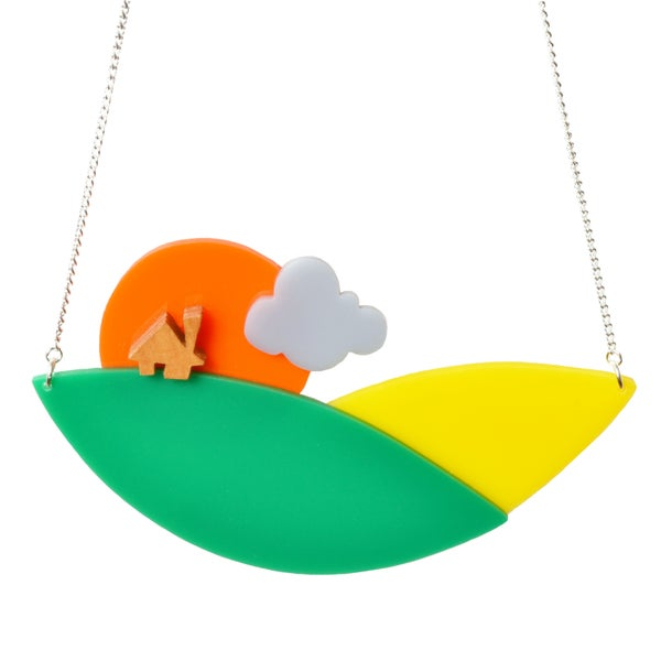 Image of Countryside Sunset necklace