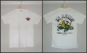 Image of SNAKE+LION T-SHIRT (WHITE)