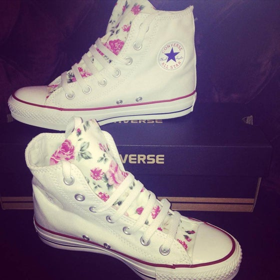 Image of Hitop floral converse all stars