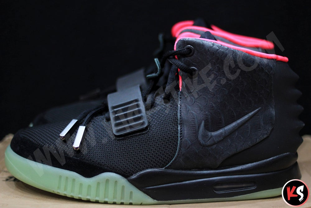 """Image of Air Yeezy 2 """"Solar Red"""" (USED)"""