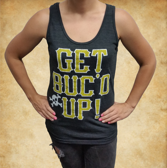Image of GET BUC'D UP Unisex Tank